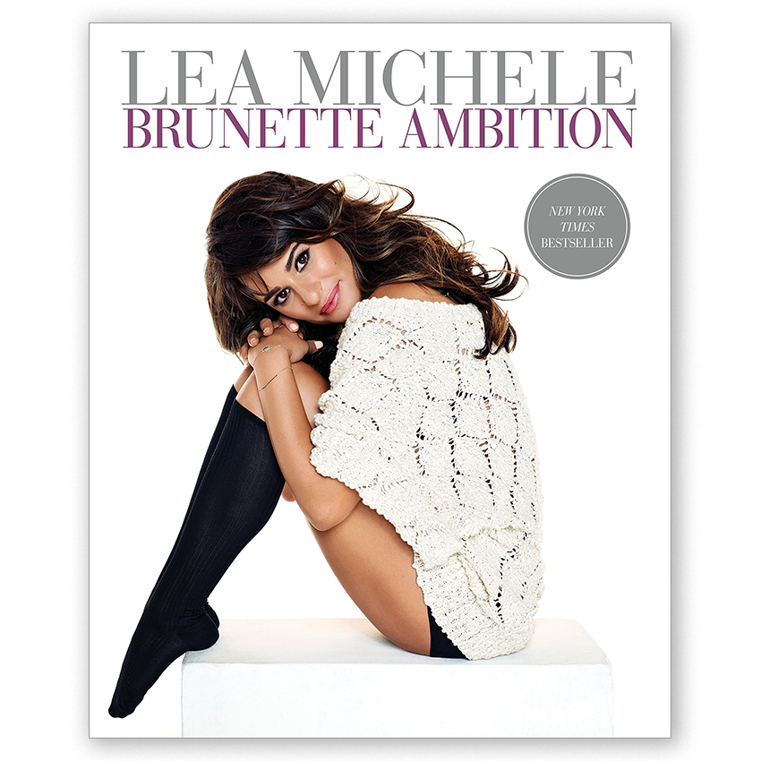 Lea Michele--Brunette Ambition